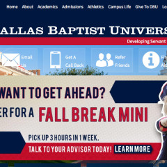 Dallas Baptist University – Dallas F Wth, TX | Texas Higher Education Center