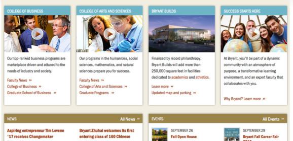 Bryant University – Prv-N Bfd, RI-MA | Rhode Island Higher Education Center