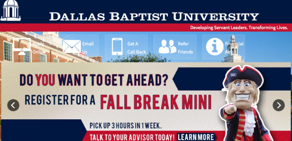 Dallas Baptist University – Dallas F Wth, TX | Texas Higher Education Center