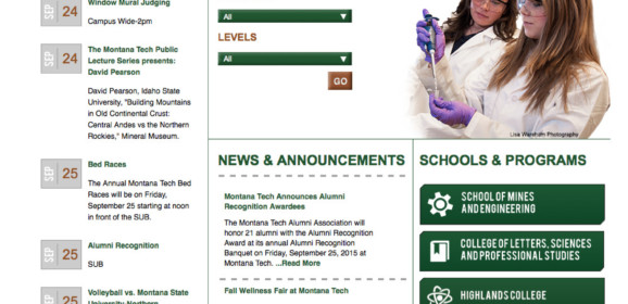 Montana Tech Of The Univ Of MT – Butte-Silver, MT | Montana Higher Education Center