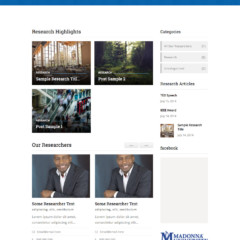 Madonna University Campus – Detroit-Wrn, MI | Michigan Higher Education Center