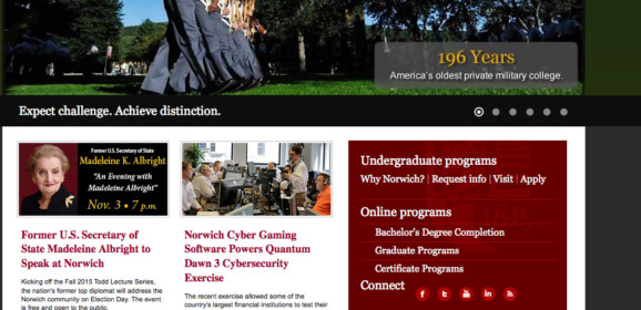 Norwich University – Barre, VT | Vermont Higher Education Center