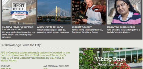 Portland State University – Portland, OR-WA   Oregon Higher Education Center