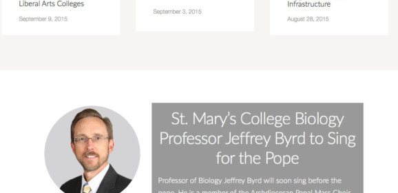 St Mary's College Of Maryland – Calif-Lex Pk, MD | Maryland Higher Education Center