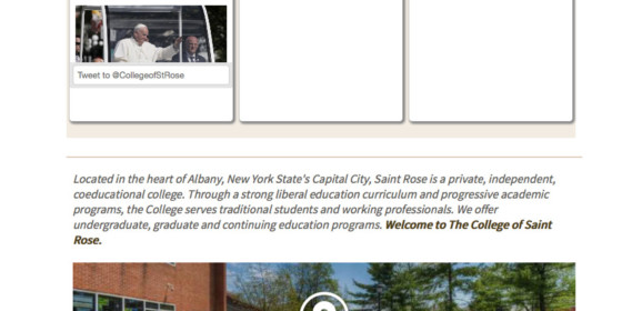 College Of St Rose – Albany-Try, NY | New York Higher Education Center
